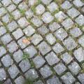 Kopfsteinpflaster als Behinderung